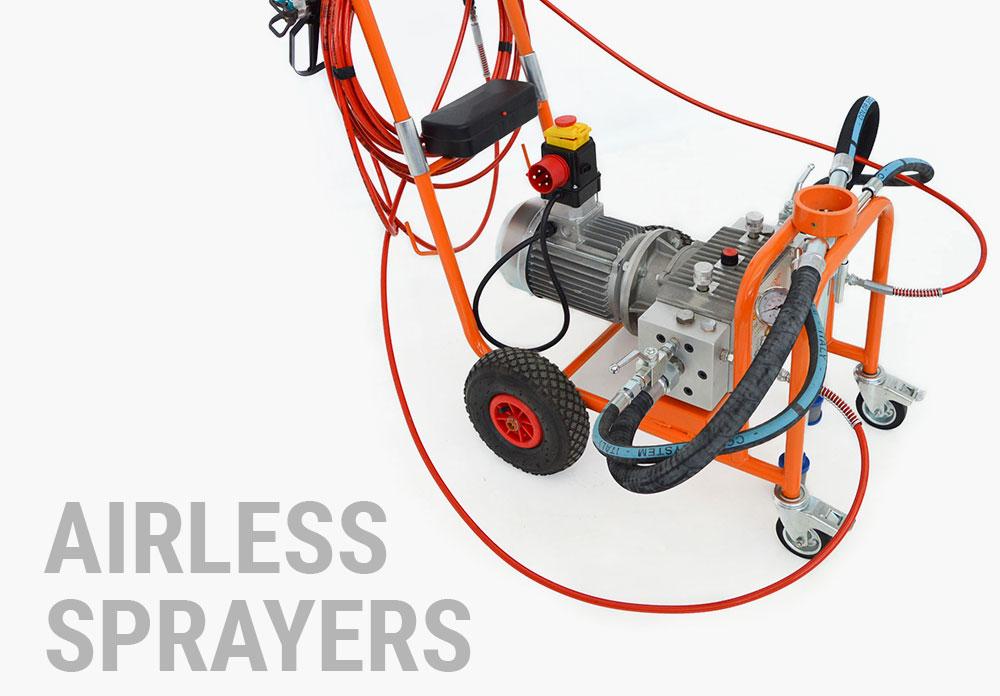 AIRLESS SPRAYERS/PUMPS